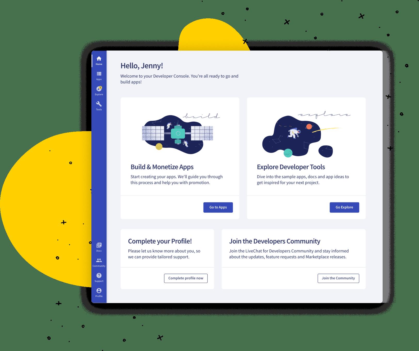 LiveChat Platform: LiveChat Developer Console